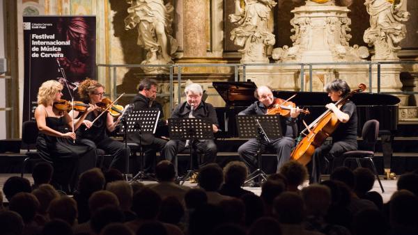 Concierto del Festival Internacional de Música de Cervera, dentro de la Cátedra Emili Pujol.