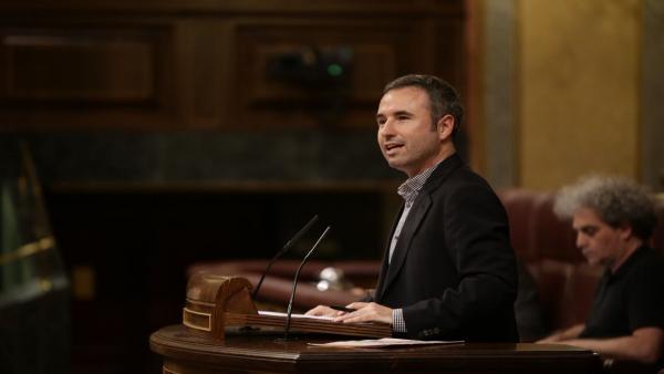 Guillermo Díaz, diputado de Ciudadanos Cs por Málaga en el Congreso