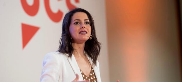 Inés Arrimadas en su intervención en el Campus Joven de Verano de Ciudadanos