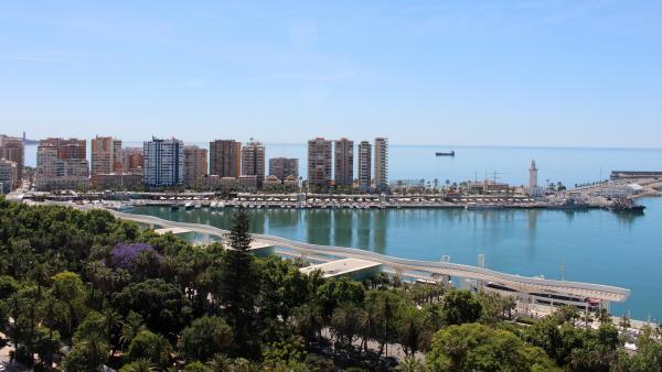 Dársenas Muelles 1 y 2 Puerto de Málaga