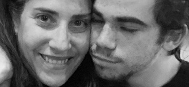 El actor Cameron Boyce junto a su madre, Libby