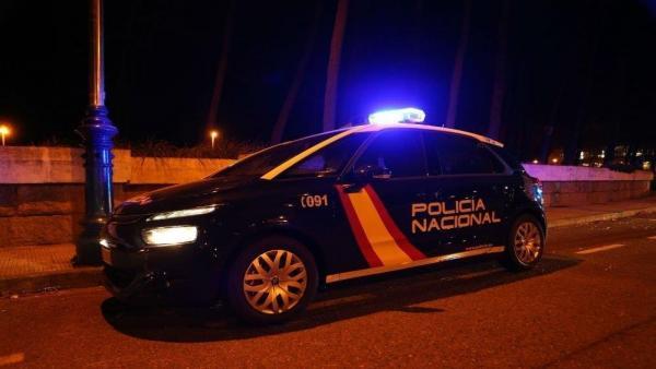 Coche de Policía Nacional en imagen de archivo