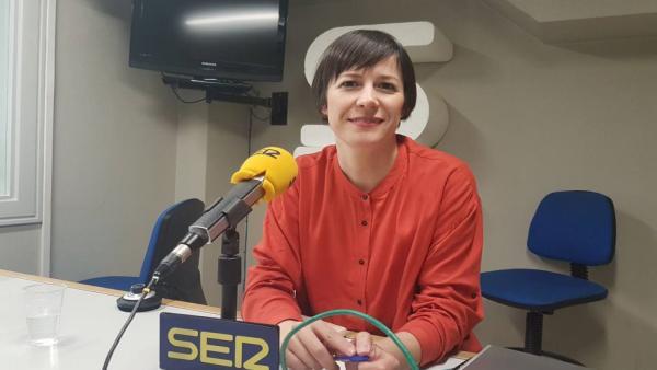Ana Pontón, portavoz nacional del BNG, en entrevista en Radio Galicia Cadena Ser