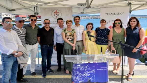 La directora de Turismo de Galicia, Nava Castro, participa en el acto institucional en conmemoración del Traslatio Apostólico.