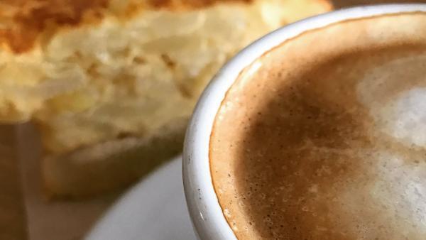 Café con pincho de tortilla