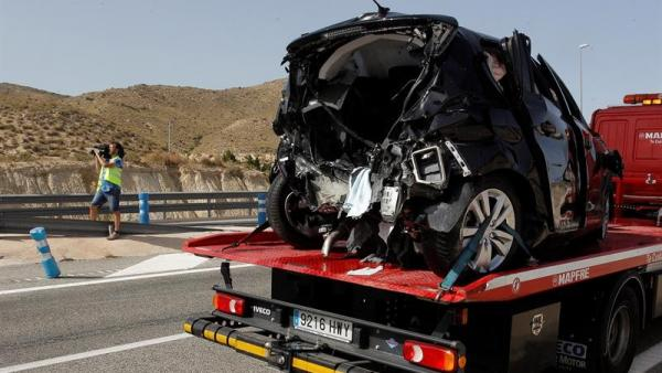 Accidente mortal en El Campello, Alicante