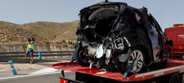 Accidente mortal en El Campello, Alicante