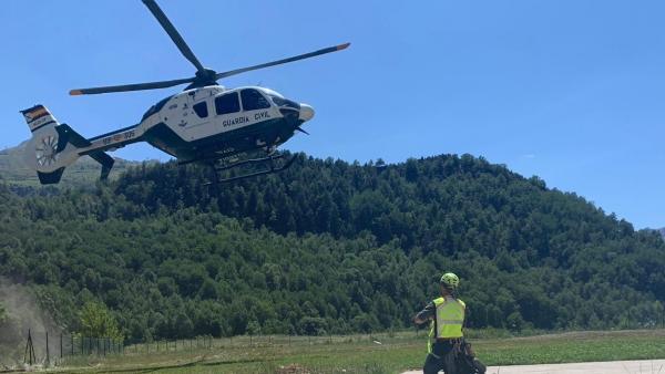 Helicóptero de la Guardia Civil.