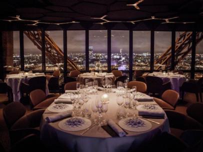 El restaurante de la Torre Eiffel de París
