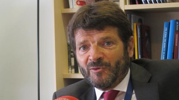El teniente de alcalde de Seguridad del Ayuntamiento de Barcelona, Albert Batlle, en una foto de archivo