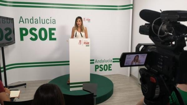 La parlamentaria andaluza por el PSOE María Márquez.