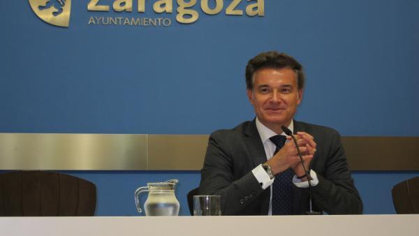 El consejero de Urbanismo del Ayuntamiento de Zaragoza, Víctor Serrano