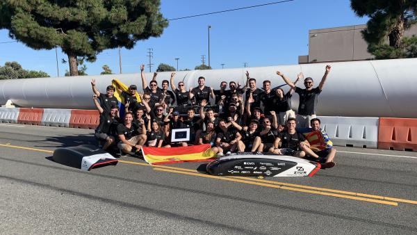 El equipo Hyperloop de la Universitat Politècnica de València ha recibido el Premio a la Innovación en la Hyperloop Pod Competition,