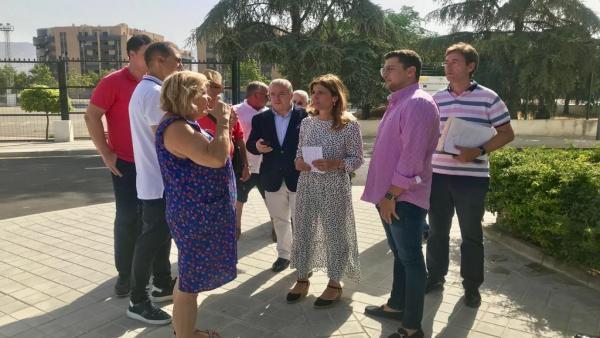 Visita al entorno de la plaza Francisco Javier Simonet
