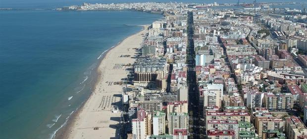 Vista panorámica de Cádiz