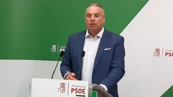 Juan Carlos Ruiz Boix en la rueda de prensa
