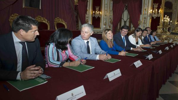 La Diputación de Málaga recibirá de la Junta de Andalucía seis millones de euros para obras de fomento del empleo agrario