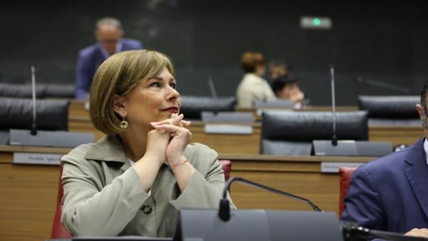 La expresidenta de Navarra, Uxue Barkos.