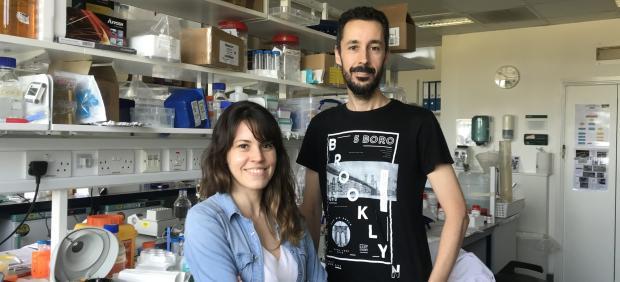 Clea Bárcena y Pedro Moral Quirós