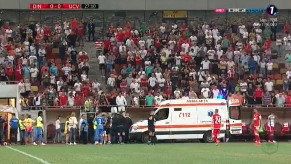 El entrenador del Dinamo de Bucarest sufre un infarto en pleno partido