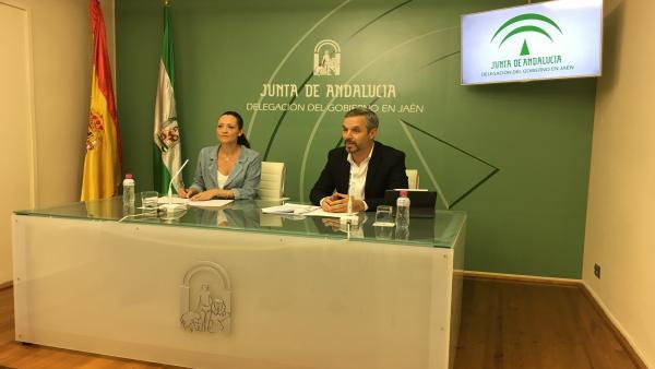 Maribel Lozano y Juan Bravo
