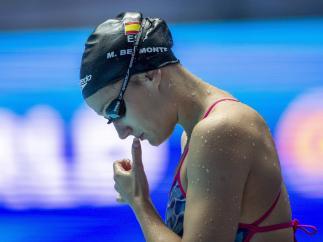 Mireia Belmonte en los Mundiales de Gwangju 2019