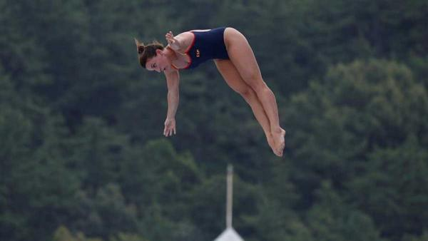 La saltadora Celia Fernández