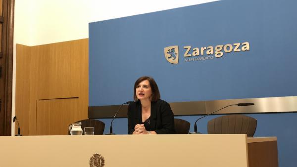 La vicealcaldesa de Zaragoza, Sara Fernández.