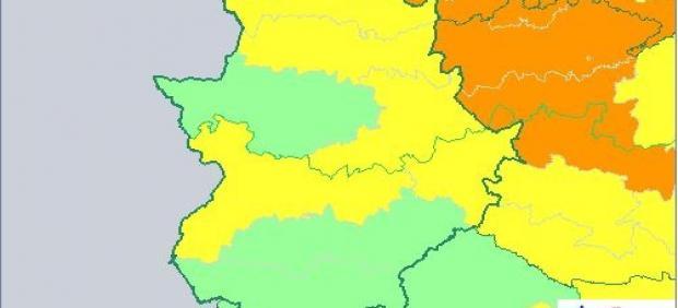 Alertas en Extremadura para el 23 de julio