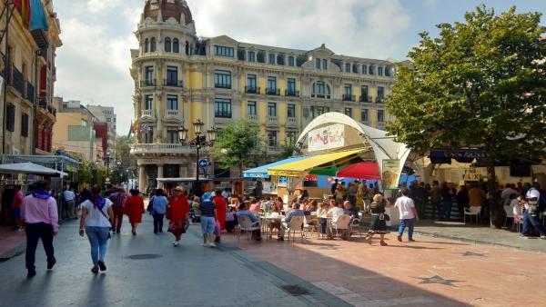 Fiestas de San Mateo en Oviedo.