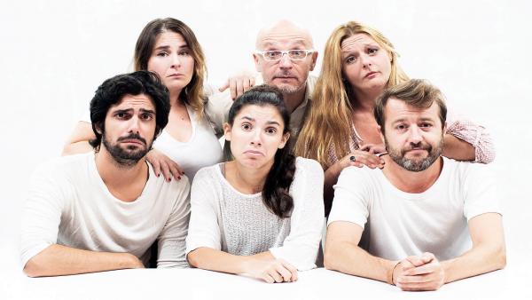 Los actores de la obra accesible 'La Valentía'.