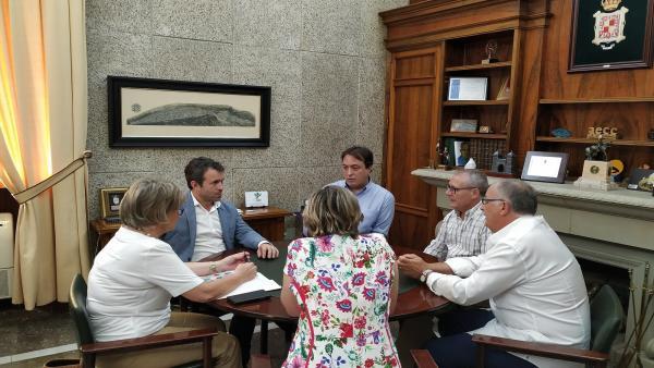 Reunión con representantes del Festival de Otoño