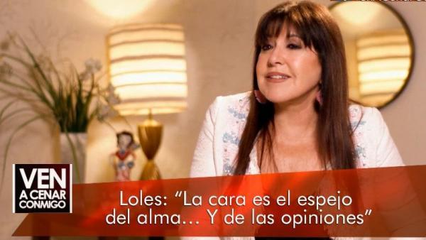 Loles León, en 'Ven a cenar conmigo: Gourmet Edition'.