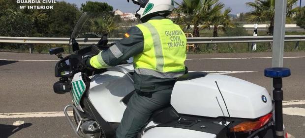 Agente de la Guardia Civil de Tráfico.