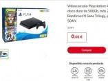 PS4 a 0,01 céntimo en la web de Alcampo de Sevilla Este