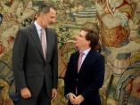 El Rey recibe al alcalde de Madrid