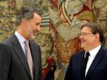 Felipe VI y Ximo Puig