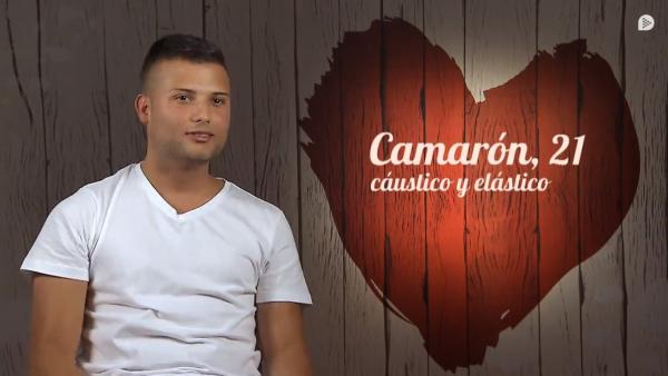 Camarón, en 'First dates'.