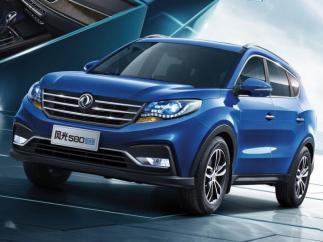 Un SUV de siete plazas, así es el todocamino de Dongfeng.