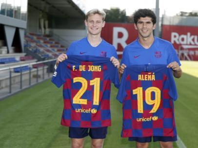 Aleñá y De Jong