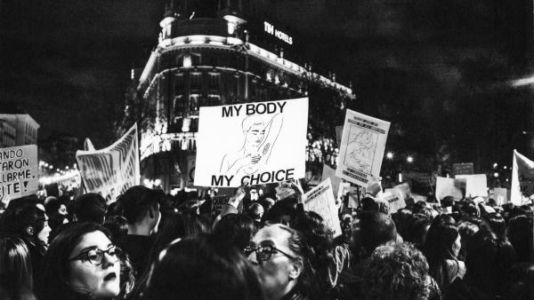 Donna Ferrato. International Women's Day's March. Madrid. 03.08.2019