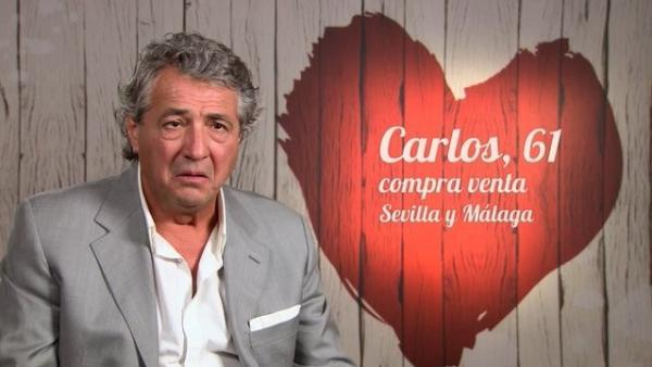 Carlos, en 'First dates'.