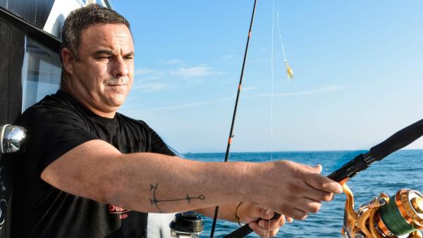 Ángel León, de pesca con '20minutos'
