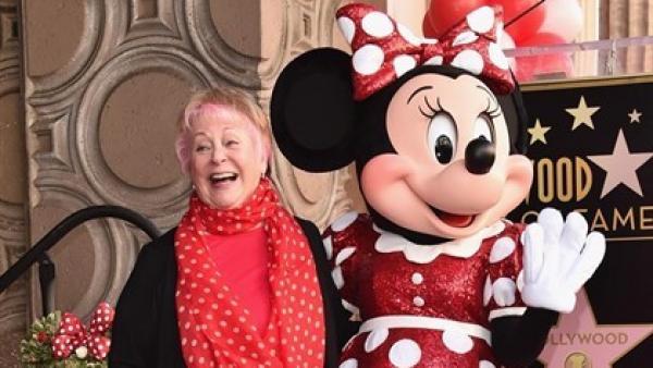 Russi Taylor, la voz de Minnie Mouse.