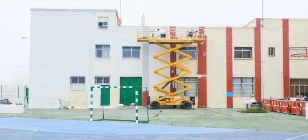 Obras y mejoras en centros públicos escolares