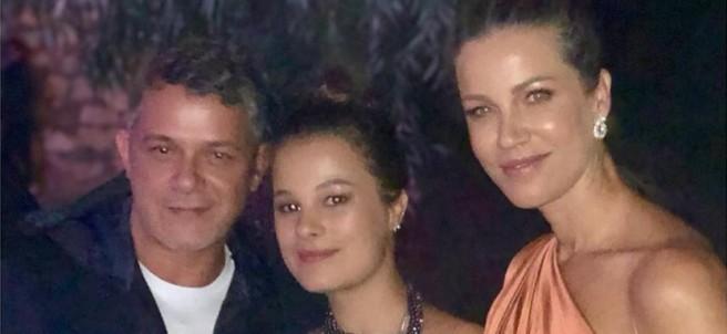 Alejandro Sanz, Manuela y Jaydy Michel