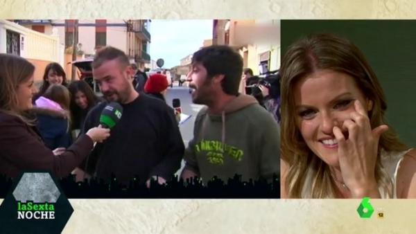 Andrea Ropero, en su último programa de 'La Sexta Noche'.