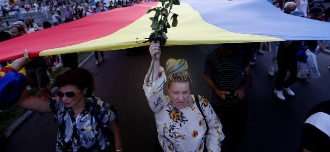Protestas en Rumanía tras el asesinato de una adolescente de 15 años.