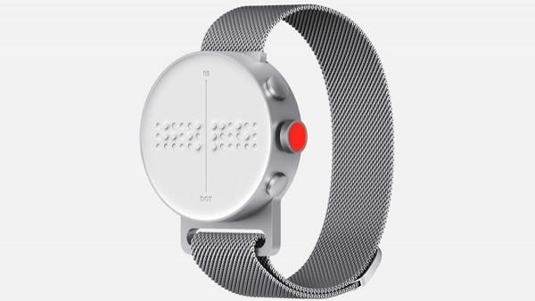 El Dot Watch, un 'smartwatch' en braille