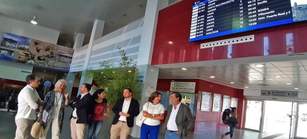 Np, Foto Y Audio Mercedes Colombo Mejoras Estación De Autobuses